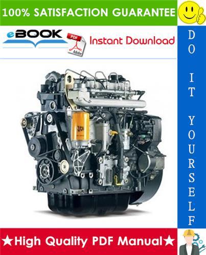 Best  U2606 U2606 Jcb Diesel 100 Series Engine Service Repair Manual