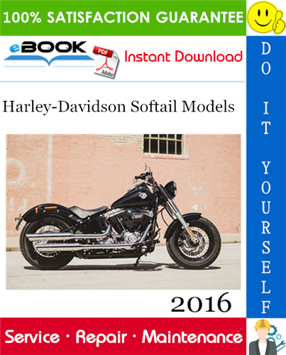 Pay for ☆☆ Best ☆☆ 2016 Harley-Davidson Softail Models Motorcycle Service Repair Manual