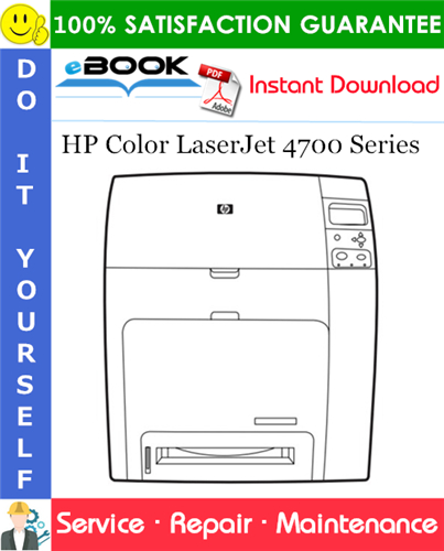 Pay for ☆☆ Best ☆☆ HP Color LaserJet 4700 Series Service Repair Manual