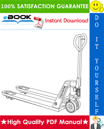 Pay for ☆☆ Best ☆☆ Toyota Hand Truck HT20L Spare Parts Catalogue