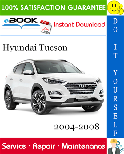 Best  U2606 U2606 Hyundai Tucson Service Repair Manual 2004