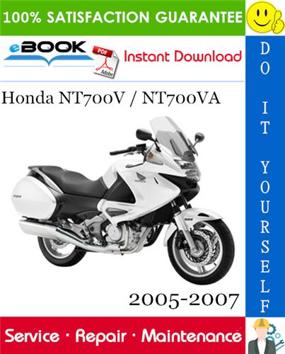 Best  U2606 U2606 Honda Nt700v    Nt700va Motorcycle Service Repair