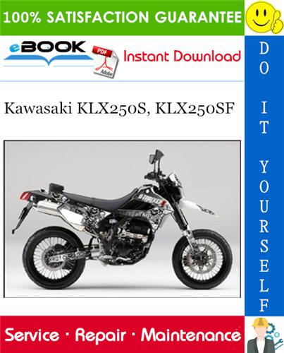 Best  U2606 U2606 2009 Kawasaki Klx250s  Klx250sf Motorcycle Service