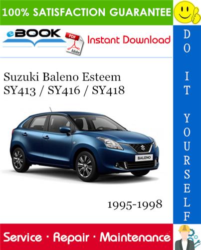 Best  U2606 U2606 Suzuki Baleno Esteem Sy413    Sy416    Sy418 Service