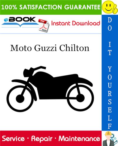 Best  U2606 U2606 Moto Guzzi Chilton Motorcycle Service Repair Manual