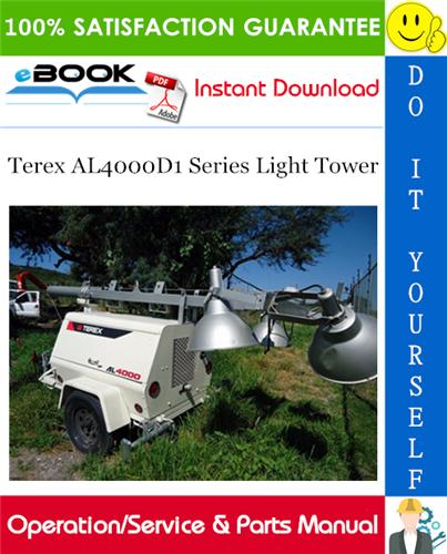Best  U2606 U2606 Terex Al4000d1 Series Light Tower Operation
