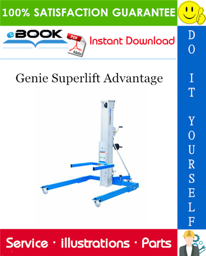 Pay for ☆☆ Best ☆☆ Genie Superlift Advantage Parts Manual