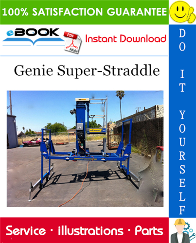 Pay for ☆☆ Best ☆☆ Genie Super-Straddle Parts Manual