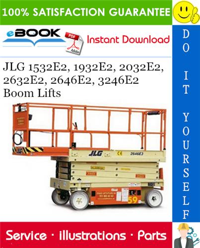 Best  U2606 U2606 Jlg 1532e2  1932e2  2032e2  2632e2  2646e2  3246e2 Boom Lifts Illustrated Parts Manual