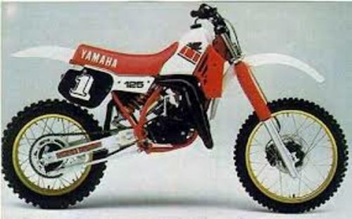 1985 yamaha yz125n owner repair service manual pdf. Black Bedroom Furniture Sets. Home Design Ideas
