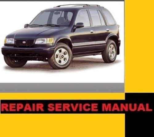 98 kia sportage repair manual