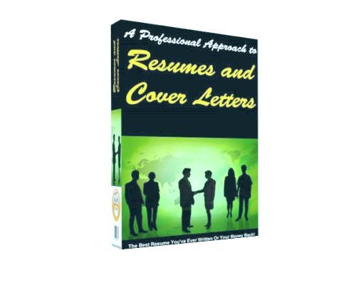 Pay for Buy How To Write professional Resumes and Cover Letters