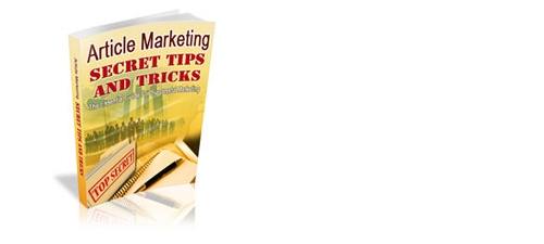 Pay for Article Marketing Secrets, Tips and Tricks - PLR eBook Guide