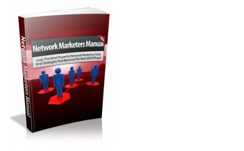 Pay for Network Marketing Network Marketers Manual eBook