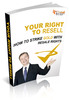 Thumbnail The Right to Resell   ( Master Resell Rights )