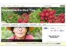Thumbnail Vegetable Garden Blog ( PLR)