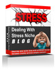 Thumbnail Dealing With Stress Niche Blog  (MRR )
