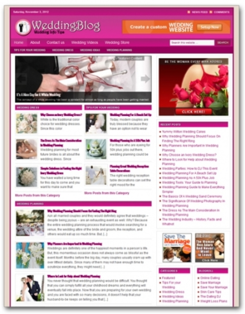 Pay for Wedding Blog   ( Private Label Rights )