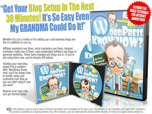 Pay for WordPress Know How  ( Master Resell Rights )