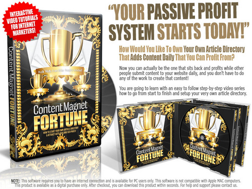 Pay for Content Magnet Fortune  ( Master Resell Rights )