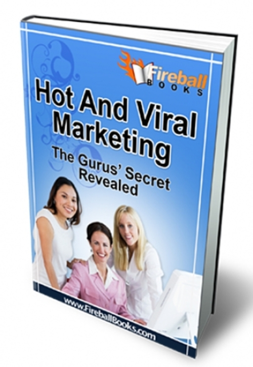 Pay for Hot and Viral Marketing  ( Master Resell Rights )
