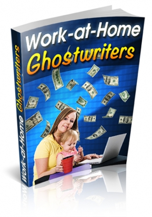Pay for Work At Home Ghostwriters  ( Master Resell Rights )