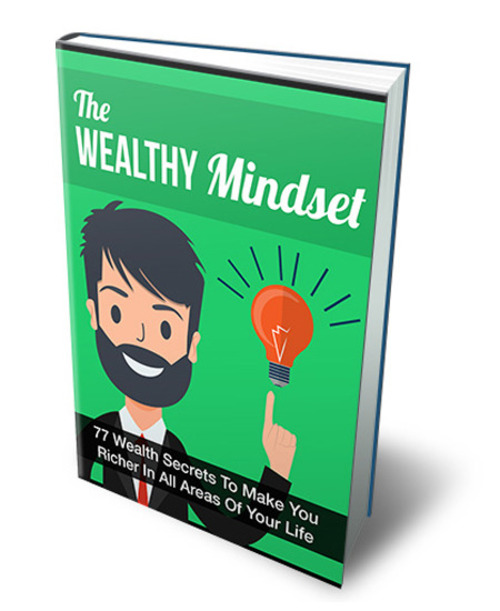 Pay for The Wealthy Mindset  ( PLR)