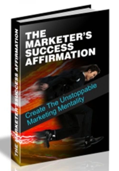 Pay for The Marketers Success Affirmation (MRR )