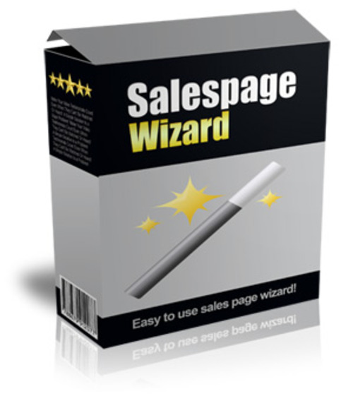 Pay for Salespage Wizard (MRR )