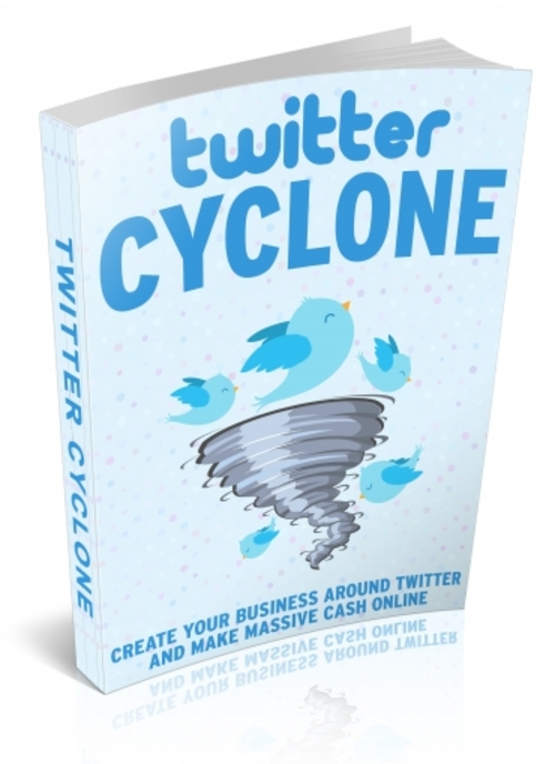 Pay for Twitter Cyclone  (MRR )