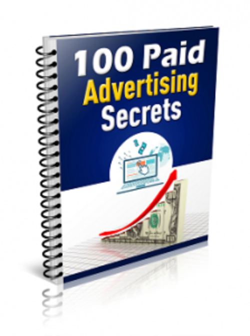 Pay for 100 Paid Advertising Secrets ( MRR )