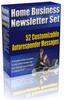 Thumbnail Home Business Newsletter Set plr
