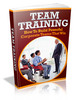 Thumbnail Team Training plr