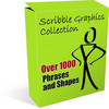 Thumbnail Scribble Graphics Collection plr