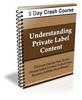 Thumbnail Understanding Private Label Content - 5 Day eCourse (PLR)