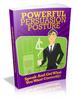 Thumbnail Powerful Persuasion Posture plr