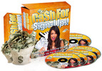 Thumbnail Cash for Signups - Video Series plr