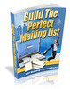 Thumbnail Build The Perfect Mailing List plr