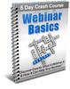 Thumbnail Webinar Basics - 5 Day eCourse (PLR)