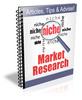 Thumbnail Niche Market Research - 12 Part Newsletter Series plr