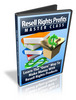 Thumbnail Resell Rights Profits - Master Class - Video Series plr