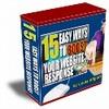 Thumbnail 15 Ways to Boost Traffic plr