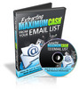 Thumbnail Extracting Maximum Cash From Your Email List - Video plr