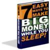 Thumbnail 7 Easy Ways to Make Big Money While You Sleep (PLR)