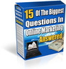 Thumbnail 15 Internet Marketing Questions Answered (PLR)