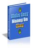 Thumbnail Make Easy Money on eBay (PLR)