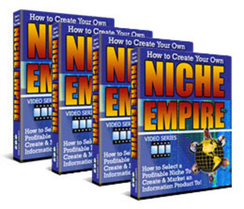 Pay for How to Create Your Own Niche Empire - Video Series plr