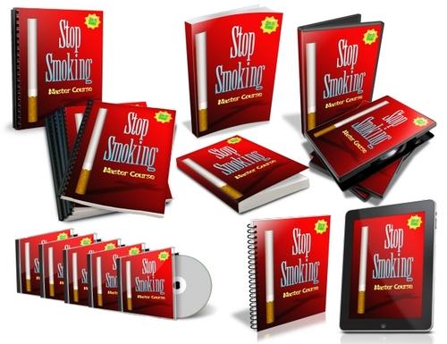 Pay for Stop Smoking Master Course - eBooks, Audios, Videos (PLR)
