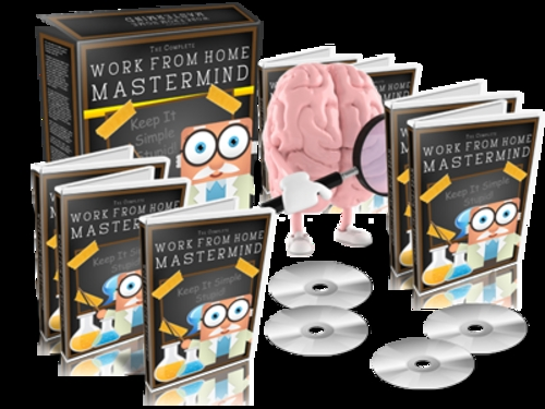 Pay for Work From Home Mastermind - eBook and Videos plr