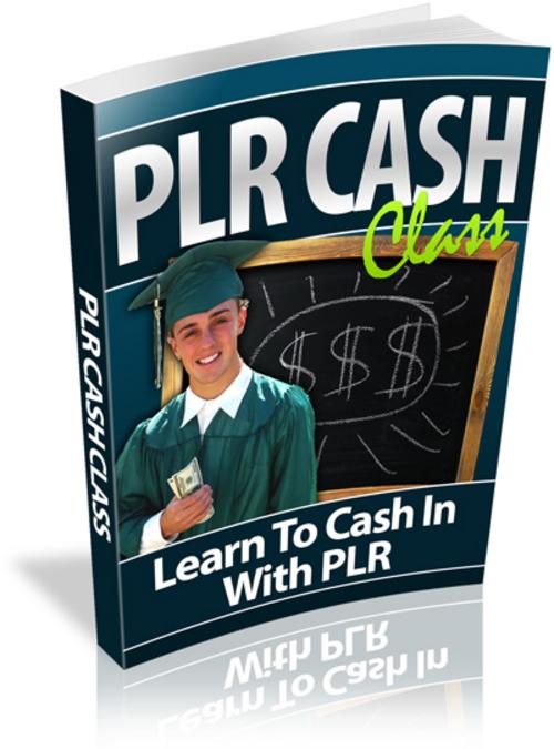Pay for PLR Cash Class - Video Series plr